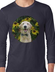 Classy Golden Retriever Long Sleeve T-Shirt