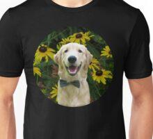 Classy Golden Retriever Unisex T-Shirt