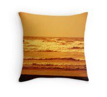 Rusty sea Throw Pillow