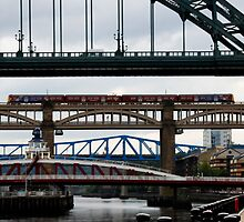 Newcastle Bridges by leizure