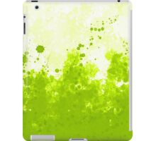 Green Ink iPad Case/Skin