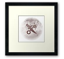 Guild Wars 2 Inspired Thief logo Framed Print