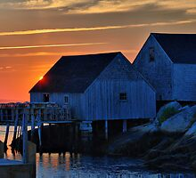 Peggy's Cove Lobster Shack by HighHeadArtwork