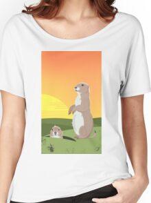 Prairie Sunset Women's Relaxed Fit T-Shirt
