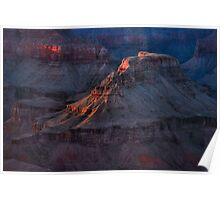 Grand Canyon Alpenglow 2 Poster
