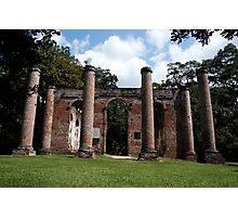Sheldon Church Ruins Photographic Print