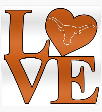 Love Texas Poster