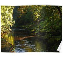 The River Wharfe Poster