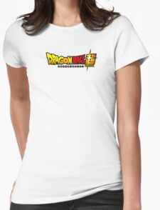Dragon Ball Super Womens Fitted T-Shirt