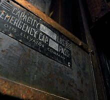 Capacity Sign by Nugent Visuality