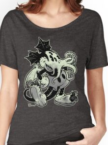 MICKTHULHU MOUSE (monochrome) Women's Relaxed Fit T-Shirt