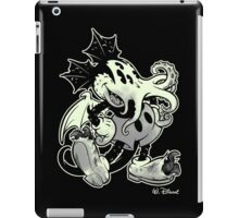 MICKTHULHU MOUSE (monochrome) iPad Case/Skin