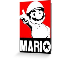 Che Mario Greeting Card