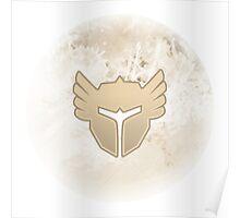 Guild wars 2 Warrior logo Poster