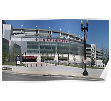 The Nationals Stadium Poster