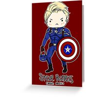 Star Spangled Man With a Plan Greeting Card