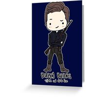 Sergeant James Barnes Greeting Card