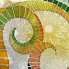 Golden Folden Detail by pentangled