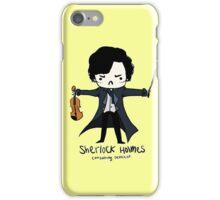 Sherlock is Not a Psychopath iPhone Case/Skin