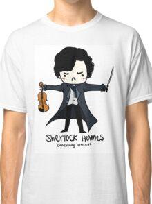 Sherlock is Not a Psychopath Classic T-Shirt