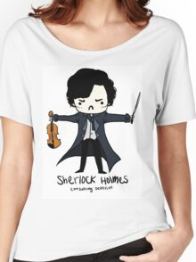 Sherlock is Not a Psychopath Women's Relaxed Fit T-Shirt