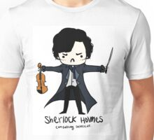 Sherlock is Not a Psychopath Unisex T-Shirt