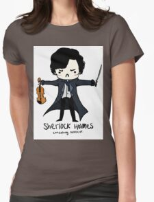 Sherlock is Not a Psychopath Womens Fitted T-Shirt