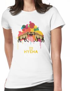Hyena Kiss Womens Fitted T-Shirt