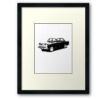Ford Cortina 4-door Saloon '62-'66 Framed Print