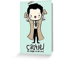 Castiel - Angel of the Lord Greeting Card