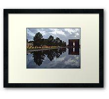 Floating Reflections -- Oklahoma City Memorial Framed Print