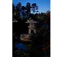 Small Stone Pagoda Photographic Print