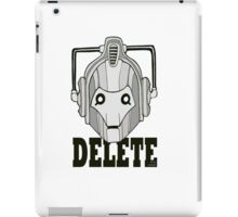 Delete iPad Case/Skin