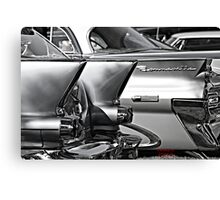 """ Stainless Steel "" Canvas Print"