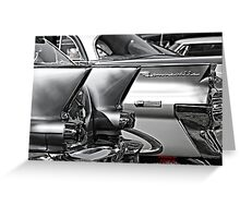 """ Stainless Steel "" Greeting Card"