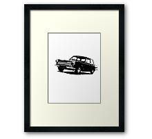 Ford Cortina 2-door Saloon '62-'66 Framed Print