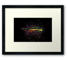 AWP Dragon Lore Framed Print