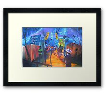 GYMPIE MUSTER COLLECTION - BLUES in the Grove 2 Framed Print