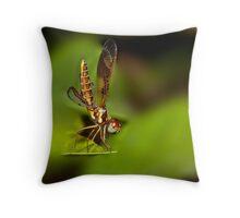 Dragonfly Macro #1 Throw Pillow