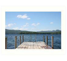 Lake George Art Print