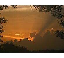 Sunset 7/19/2010 - 2 Photographic Print