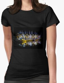Harbour the Night Womens Fitted T-Shirt