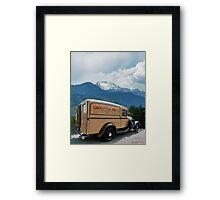 Groswold Ski Company Framed Print