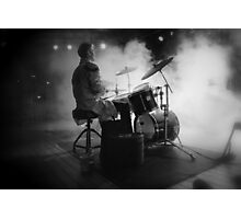 Smokin' drummer! Photographic Print
