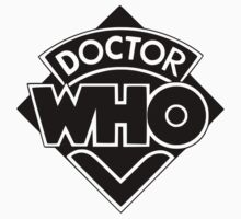 Classic Doctor Who (Black) by realglorix