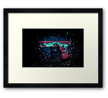 Glock 18 - Elemental Water Framed Print