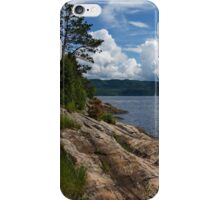 Coastal Beauty of Saguenay River in Quebec, Canada iPhone Case/Skin