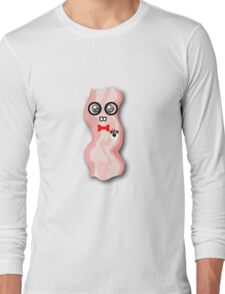 Nerdy Bacon Long Sleeve T-Shirt
