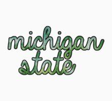 Michigan State Tie Dye by katiefarello