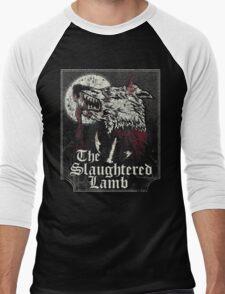 The Slaughtered Lamb  Men's Baseball ¾ T-Shirt